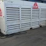 השכרת צ'ילרים ניידים בתפוקה של 150 טון קרור - אלרם גנרטורים