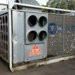 מזגן נייד בתפוקה של 50 טון קרור - אלרם גנרטורים