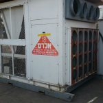 מזגן נייד בתפוקה של 35 טון קרור - אלרם גנרטורים