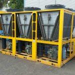 צ'ילר נייד להשכרה בתפוקה של 100 טון קירור - אלרם גנרטורים